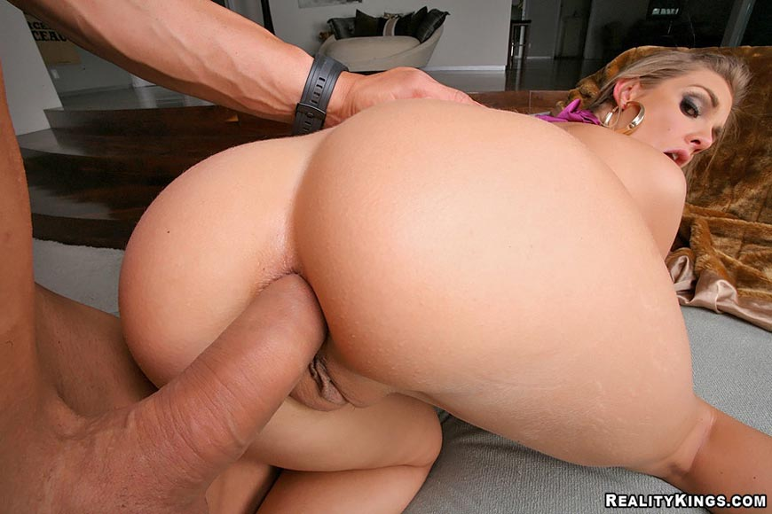 Big Ass Blonde Assfucked